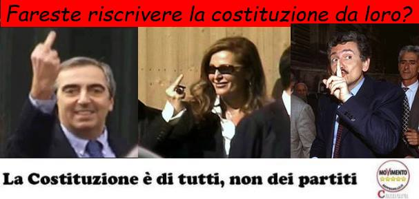Difendiamo la costituzione dentro e fuori il parlamento for Costituzione parlamento italiano