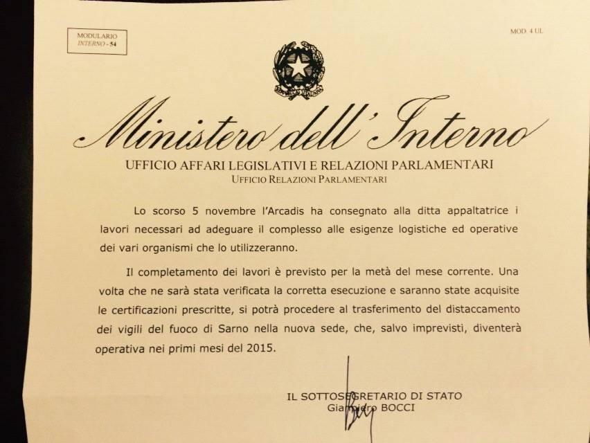 Risposta Ministero Interni Pag. 2
