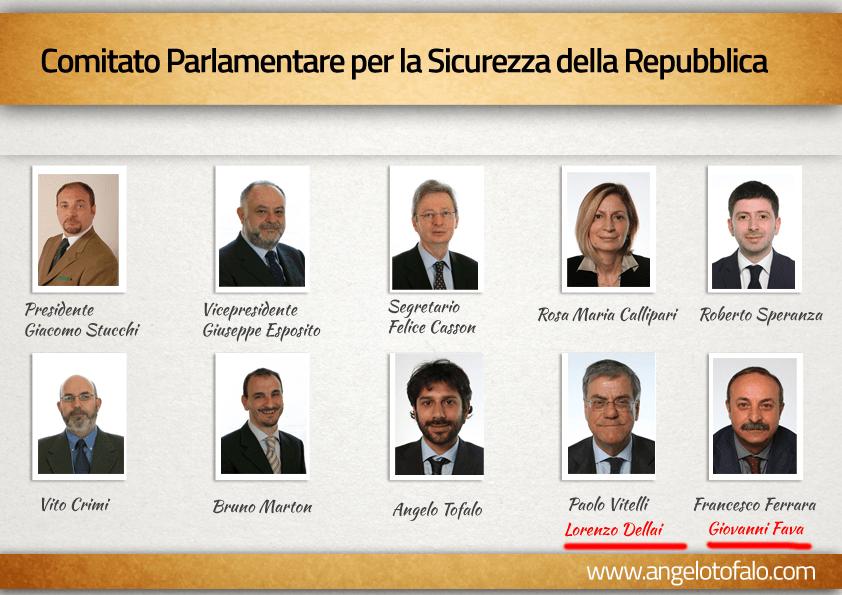 Comitato parlamentare per la sicurezza della repubblica for Repubblica parlamentare italiana