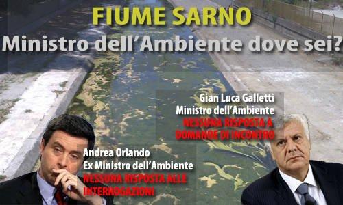 Fiume Sarno Orlando e Galletti