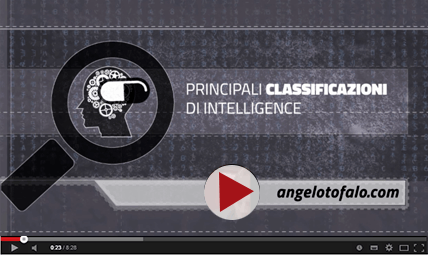 PILLOLE-INTELLIGENCE---PRINCIPALI-CLASSIFICAZIONI