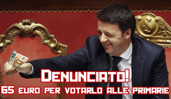 Denuncia Renzi