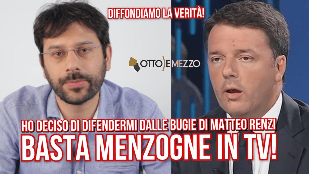 matteo Renzi la7 otto e mezzo denunciato
