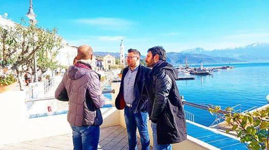 movimento 5 stelle San Giovanni a Piro con Angelo Tofalo