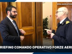 Briefing Comando Operativo Forze Aeree