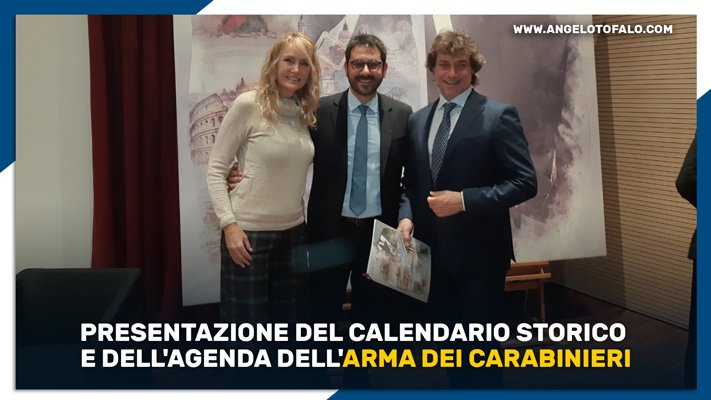Calendario Storico Carabinieri 2019.Presentazione Calendario Storico E Agenda Arma Dei